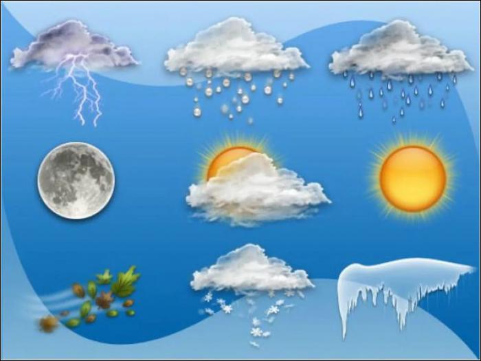 Прогно погоды на месяц